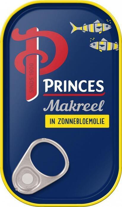 Makreelfilets in Zonnebloemolie (blik, 125g)