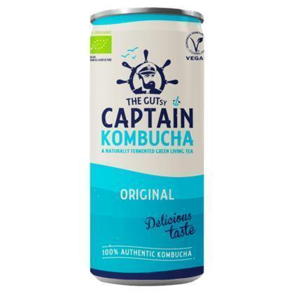 Captain Kombucha Original (rol, 25 × 250ml)