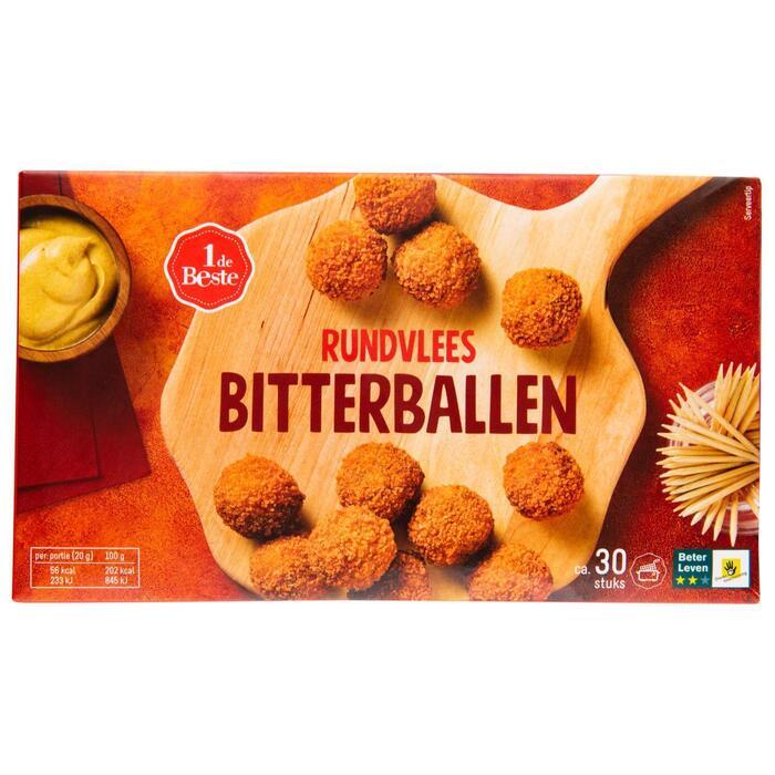 Bitterballen rundvlees 30 stuks (600g)