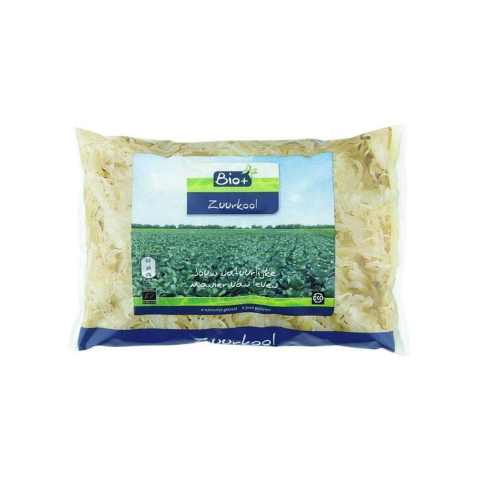 Biologische naturel zuurkool (zak, 500g)