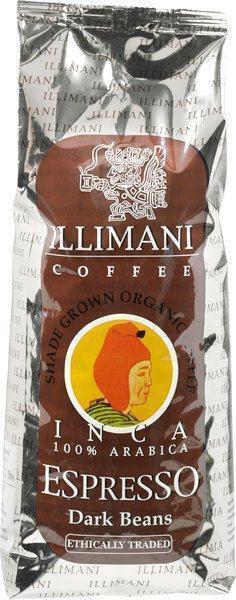 Inca 100% Arabica espresso dark beans (1kg)