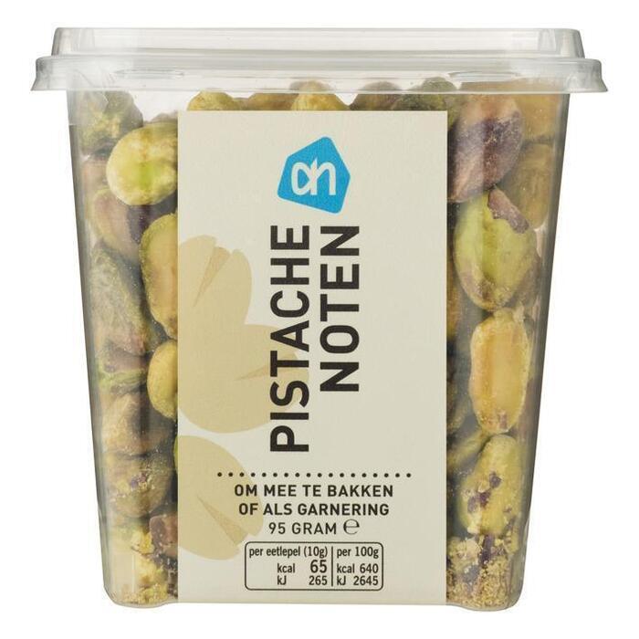 Gepelde (ongezouten) pistachenoten (bak, 95g)