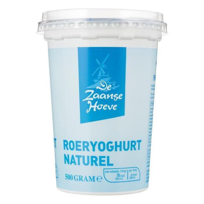 Roeryoghurt naturel (bak, 500g)