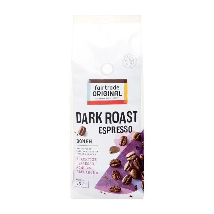 Fairtrade Espresso bonen dark roast (500g)