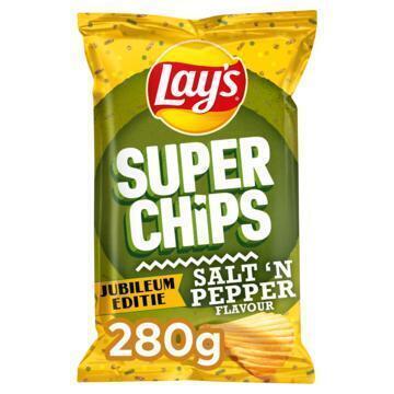 Lay's Superchips Peper & Zout 280 gr (280g)