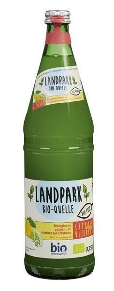 Landpark Bio-Quelle Biologische Citroen- en Vlierbessenlimonade 750 ml (0.75L)