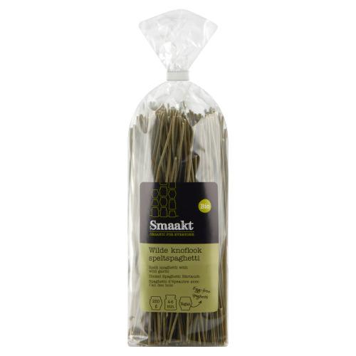 Wilde knoflook spelt spaghetti (250g)