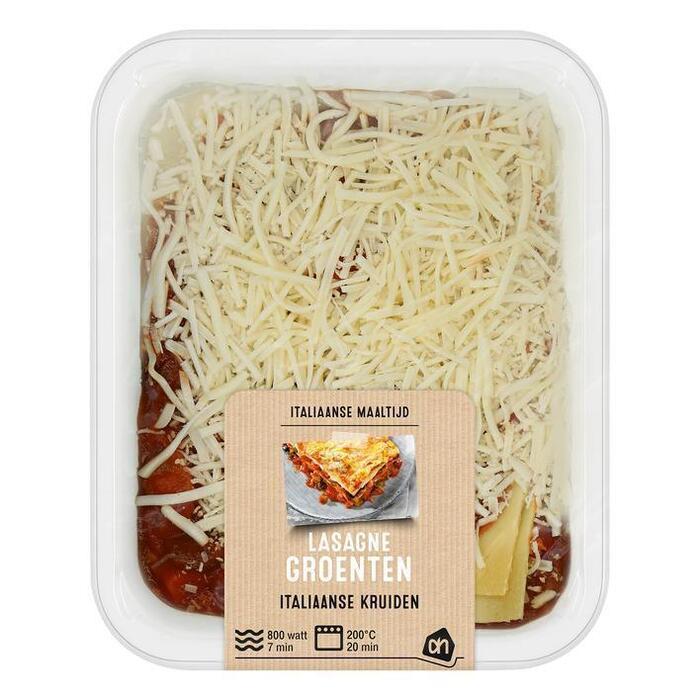 AH Lasagne groenten (400g)
