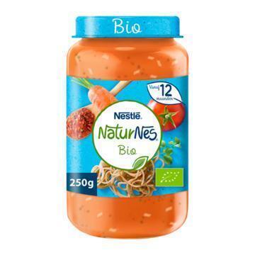 NaturNes Volkoren spagh bolognese 12m babyvoeding (250g)