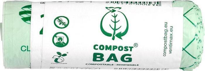 Afvalzak composteerbaar 10L