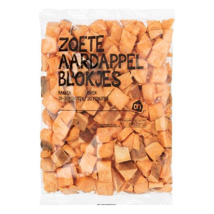 AH Zoete aardappelblokjes (400g)