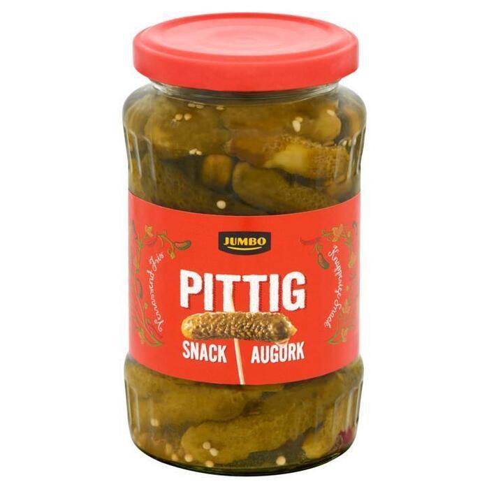 Jumbo Pittig Snack Augurk 360g (360g)