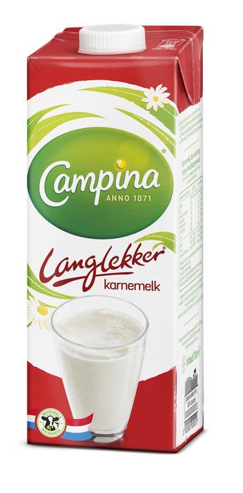 Campina Langlekker Karnemelk 1 l Pak met punt (1L)