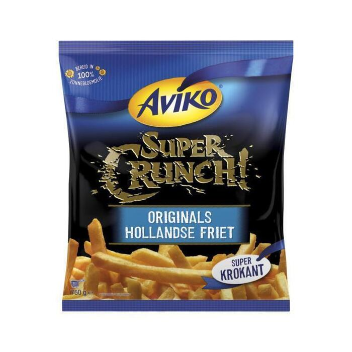 Aviko SuperCrunch originals Hollandse friet (750g)