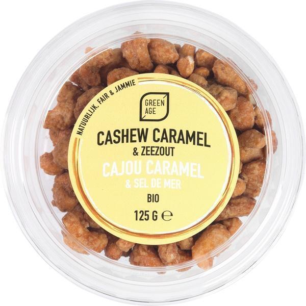 Cashewnoten karamel/ zeezout (125g)