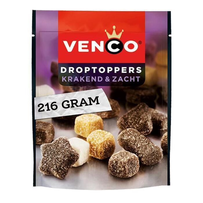 Venco Droptoppers krakend zacht (224g)