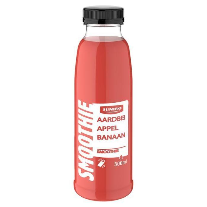 Jumbo Aardbei Appel Banaan Smoothie 500 ml (0.5L)