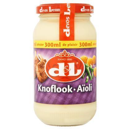 D&L KNOFLOOKSAUS (30cl)
