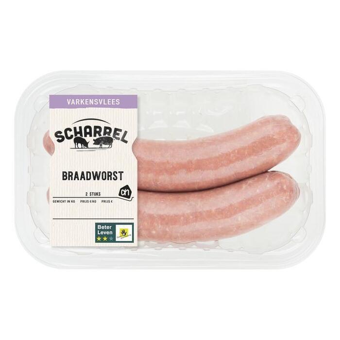 Scharrel braadworst (bak, 2 × 240g)