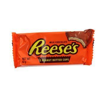 Reese's Milk Chocolate Peanut Butter Cups 2 x 21 g (2 × 21g)