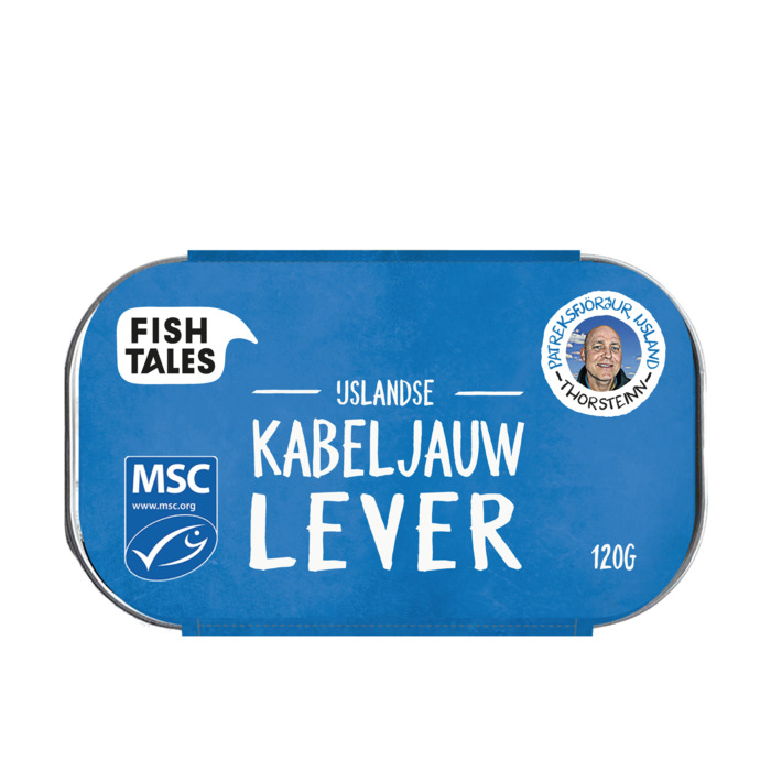 Fish Tales Kabeljauwlever (115g)