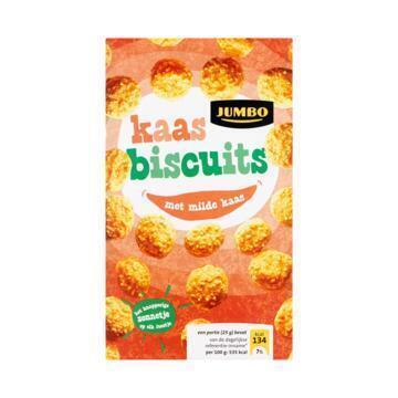 Jumbo Kaas Biscuits 100g (100g)