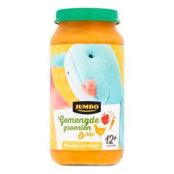Jumbo Gemengde Groenten & Kip 12+ Maanden 250 g (250g)