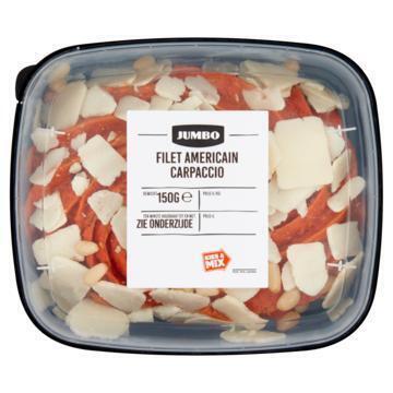 Jumbo Filet Americain Carpaccio 150g (150g)