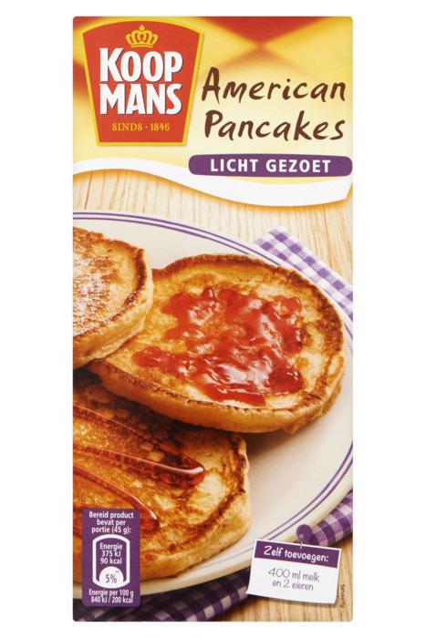 American Pancakes Licht Gezoet 400 g (400g)