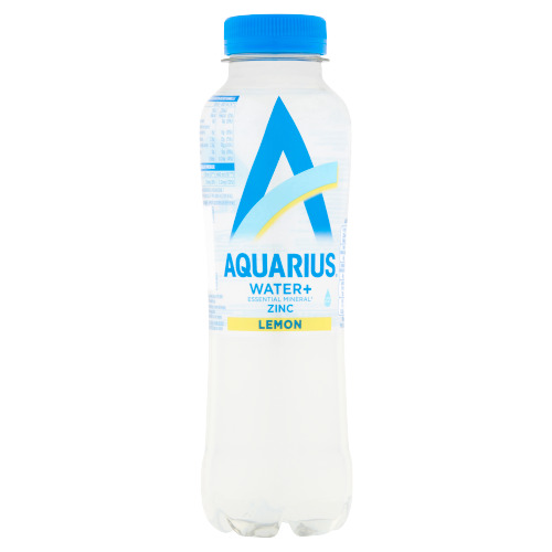 Aquarius Water+ zinc lemon (rol, 40cl)