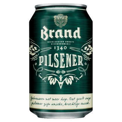 Brand Bier Blik 24 x 33 cl (rol, 33cl)