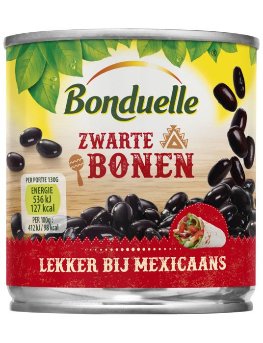 Zwarte bonen (mexicaans etiket) (200g)