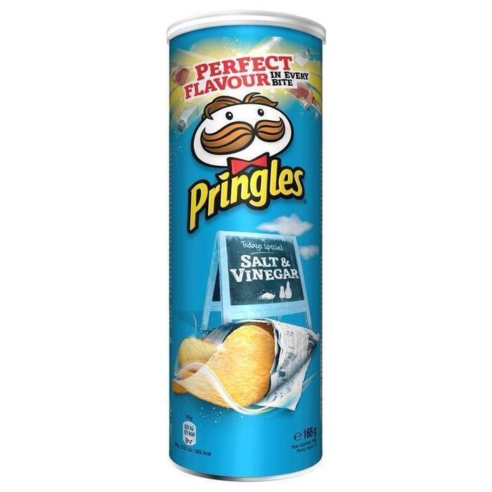 Pringles Salt & Vinegar 165g (165g)