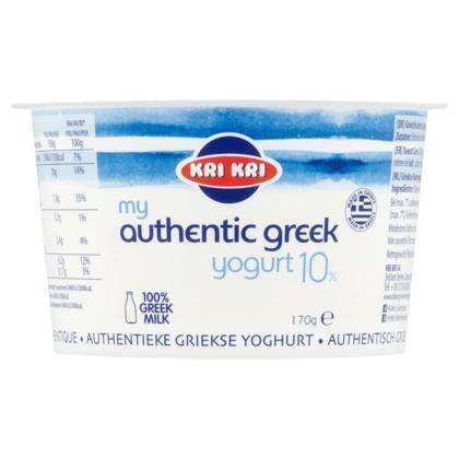 Originele Griekse yoghurt (bak, 170g)