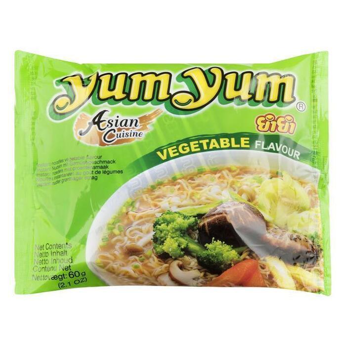 YumYum, Instant Noedels, Groentensmaak (60g)