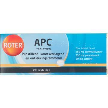 Roter APC tabletten 20 stuks
