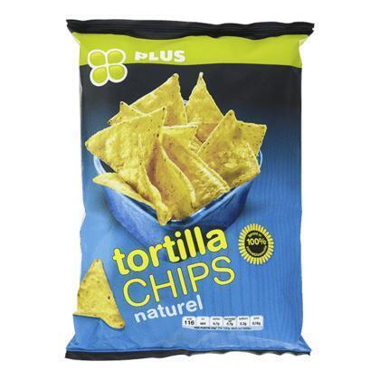 Tortilla chips naturel (165g)