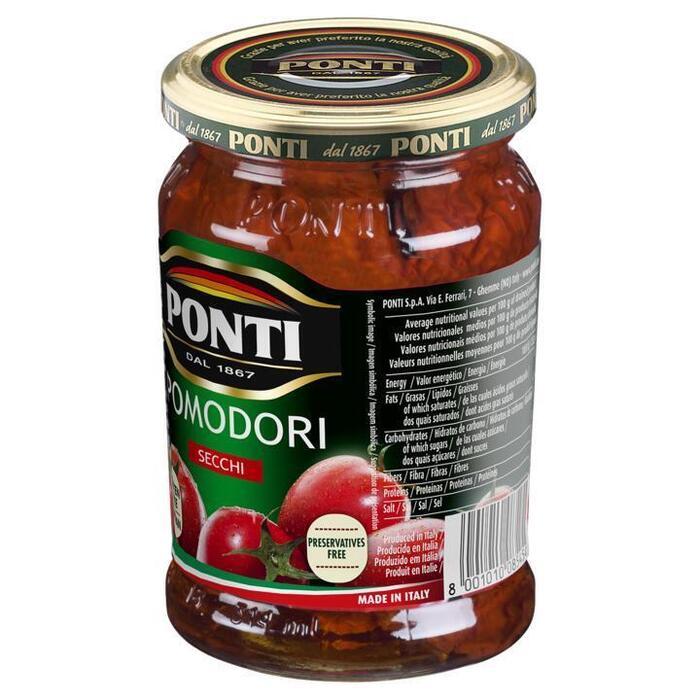 Ponti Pomodori Secchi Gedroogde tomaten 280g (280g)