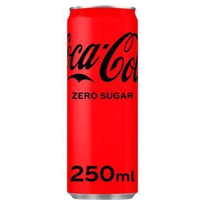 Coca-Cola Zero Sugar 250ml (rol, 250ml)