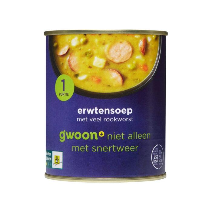 g'woon Erwtensoep (30cl)