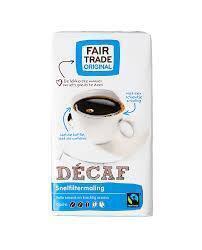 Decaf Snelfiltermaling (pak, 250g)
