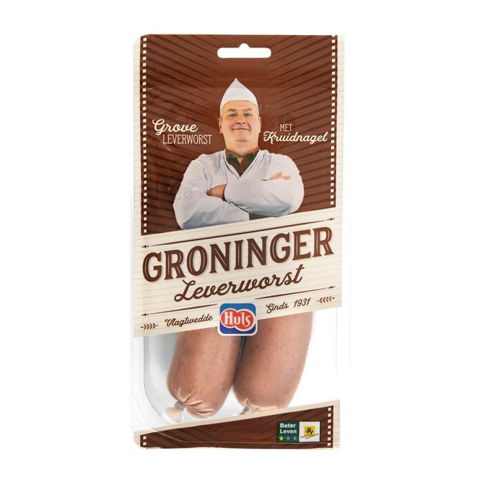 Huls Groninger Leverworst 2 x 180 g (360g)