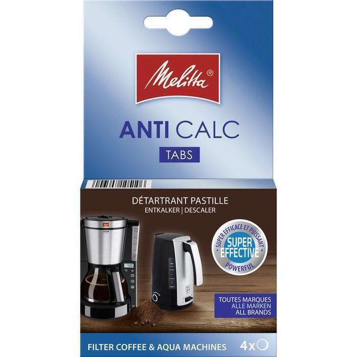 Melitta Antikalk tabletten filterkoffiemachine (pak, 50g)