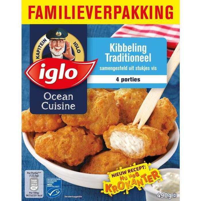 Kibbeling traditioneel 4st (490g)