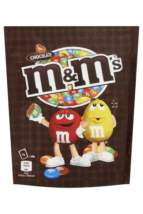 M&M, Chocolate (zak, 250g)