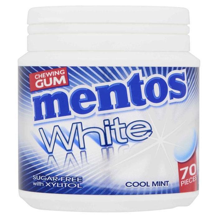 White Cool Mint pot 70 stuks (70 × 105g)