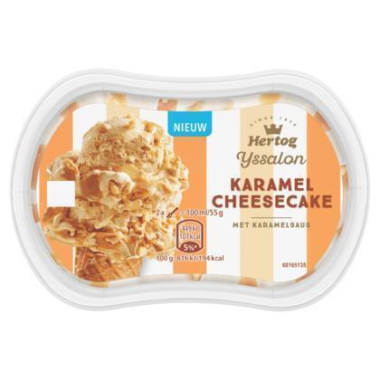 Monoportion caramel cheesecake (200ml)