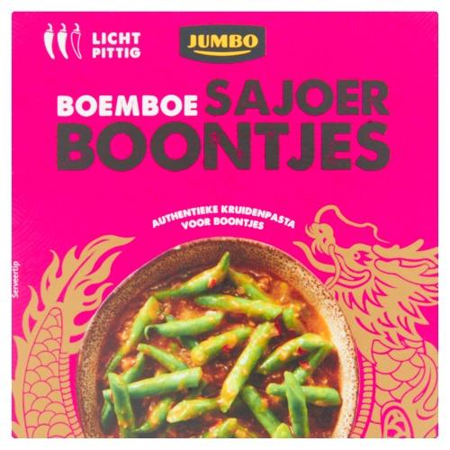 Jumbo Boemboe Sajoer Boontjes 95g (95g)