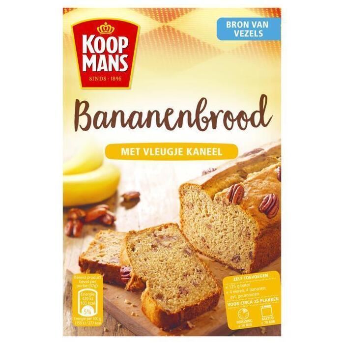 Bananen brood (320g)