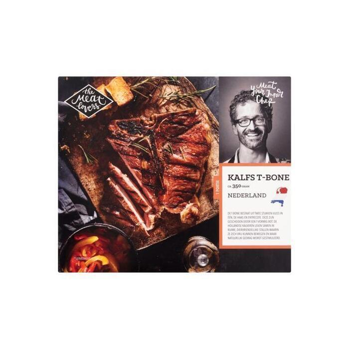 The Meat Lovers Kalfs T-Bone ca. 350 g